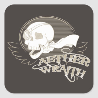 Aether Wraith Square Sticker