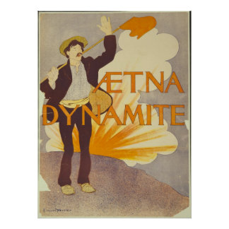 Aetna Dynamite Posters