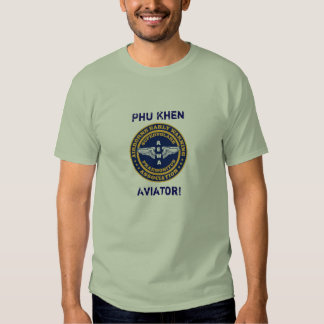¡AEWA Phu Khen, aviador! Camiseta Polera