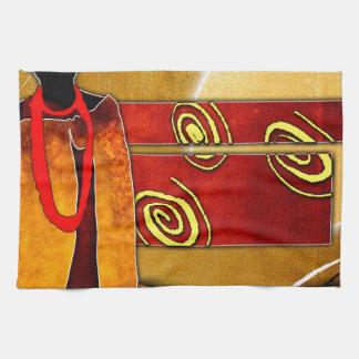af010 Africa retro vintage style gifts Hand Towel