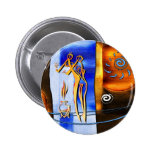 af018 Africa retro vintage style gifts Button