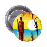 af027 Africa retro vintage style gifts Button