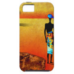af039 Africa retro vintage style gifts iPhone 5 Case