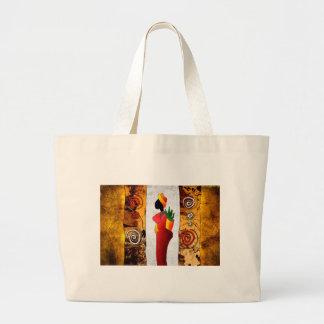 af044 Africa retro vintage style gifts Canvas Bag