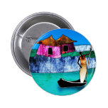af076 Africa retro vintage style gifts Pinback Button