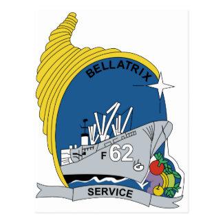 AF-62 USS Bellatrix Alstede-Class Stores Ship Mili Postcard