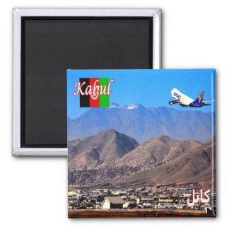 AF - Afghanistan - Kabul airport 2 Inch Square Magnet