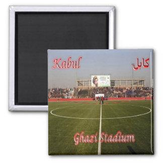 AF - Afghanistan - Kabul - Ghazi Stadium 2 Inch Square Magnet