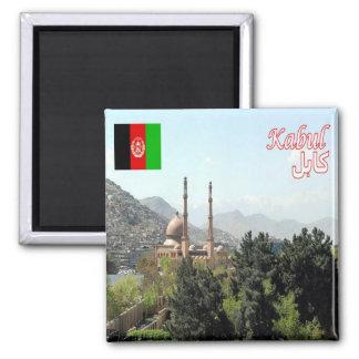 AF - Afghanistan -  Kabul - Moschea 2 Inch Square Magnet