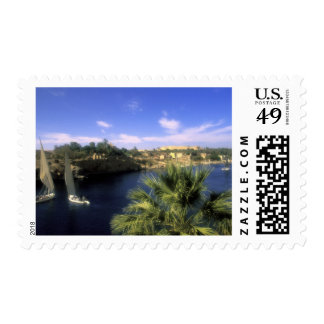 AF, Egipto, Egipto superior, Asuán. Río el Nilo, Sellos Postales
