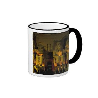 AF, Egypt, Abu Simbel. Colossal Figures of Ringer Coffee Mug