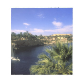 AF, Egypt, Upper Egypt, Aswan. River Nile, Notepad