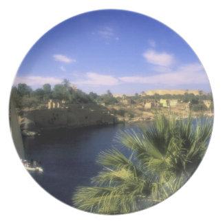 AF, Egypt, Upper Egypt, Aswan. River Nile, Plate