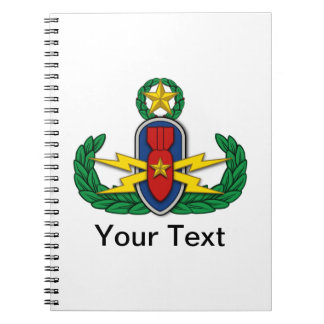 AF EOD Master 3D Spiral Notebook