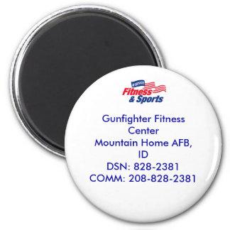 af fitness color, Gunfighter Fitness CenterMoun... Magnet