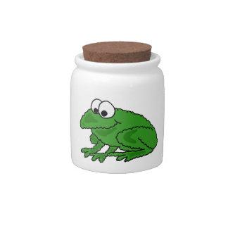 AF- Funny Frog Candy Jar