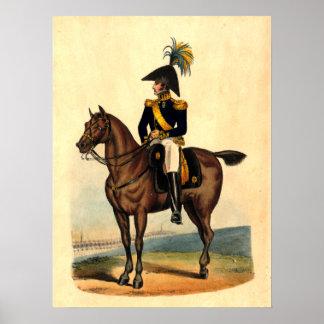 Af general Infanteriet Póster