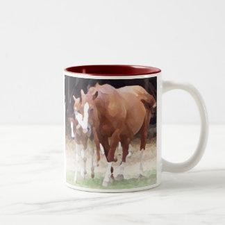 AF- Horse mug