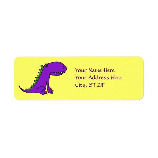 AF- Purple Dragon Address Labels