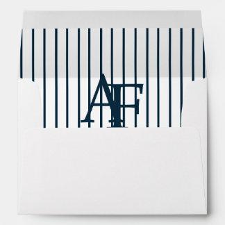 AF Yankees Baseball Bar Mitzvah 5x7 Envelope