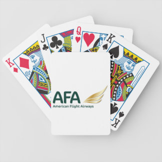 AFA Logo 2016 Bicycle Playing Cards