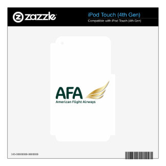 AFA Logo 2016 iPod Touch 4G Decals