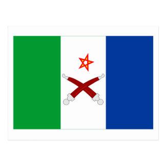 Afar Flag Postcard