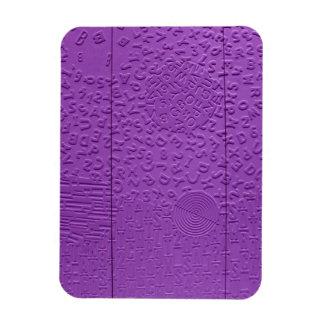 Afasia en púrpura imanes de vinilo