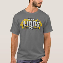 AFC Lions Dark Gray (With #) T-Shirt