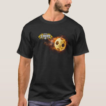 AFC Lions Fireball tee (With #)