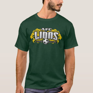 AFC Lions Green (No #) T-Shirt