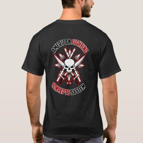 AFCS Skull  Knives Shirt