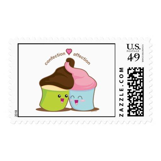 Afecto de los dulces sellos