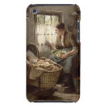 Afecto maternal (aceite en lona) barely there iPod fundas