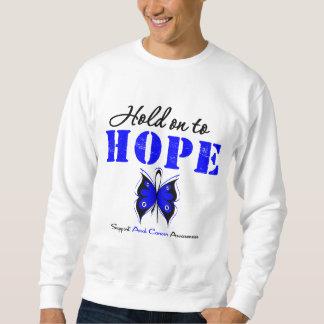 Aferrar anal del cáncer a la esperanza suéter