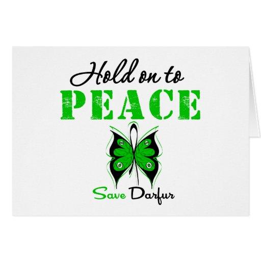 Aferrar de Darfur a la paz Felicitaciones