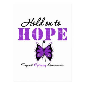 AFERRAR de la epilepsia a la ESPERANZA Tarjetas Postales