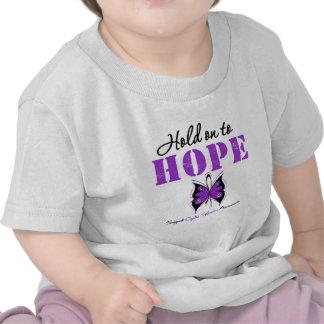 Aferrar de la fibrosis quística a la esperanza camiseta