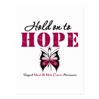 Aferrar del cáncer de cabeza y cuello a la postal