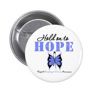 Aferrar del esófago del cáncer a la esperanza pin