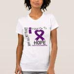 Aferrar del Fibromyalgia I a la esperanza Camisetas