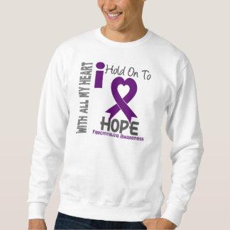 Aferrar del Fibromyalgia I a la esperanza Sudaderas Encapuchadas