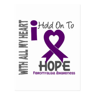 Aferrar del Fibromyalgia I a la esperanza Tarjeta Postal