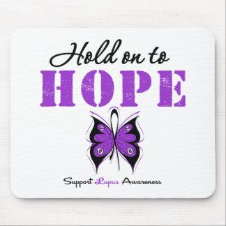 Aferrar del lupus a la esperanza alfombrillas de raton