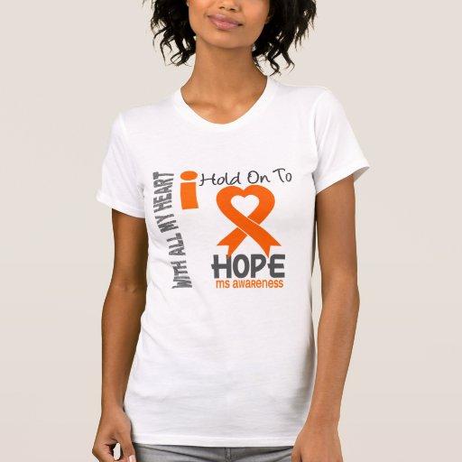 Aferrar del ms I a la esperanza Camiseta