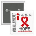 Aferrar del SIDA I a la esperanza Pins