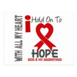 Aferrar del SIDA I a la esperanza Postales