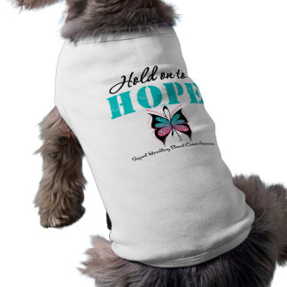 Aférrese para esperar al cáncer de pecho hereditar ropa de mascota