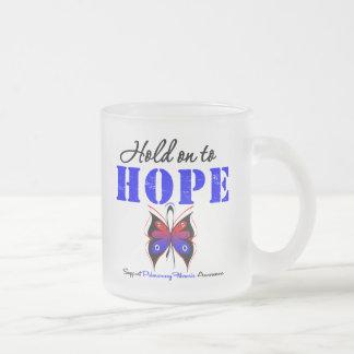 Aférrese para esperar fibrosis pulmonar tazas de café