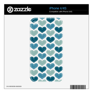 Affable Refreshing Accepted Graceful iPhone 4S Skin